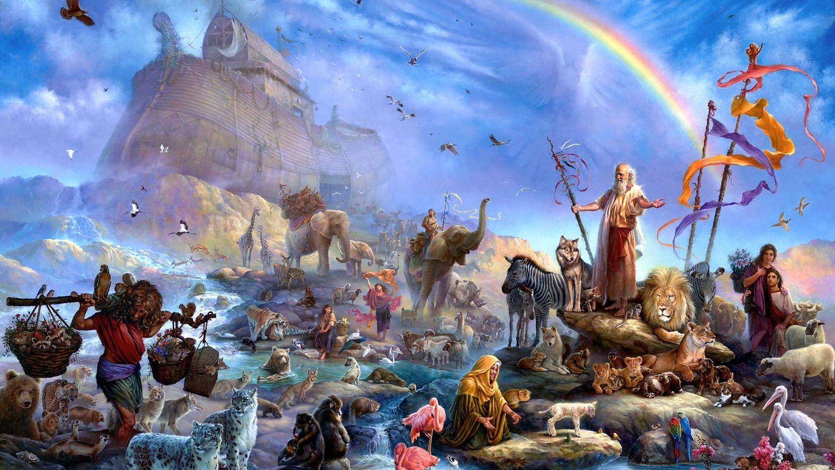 Ной Всемирный Потоп