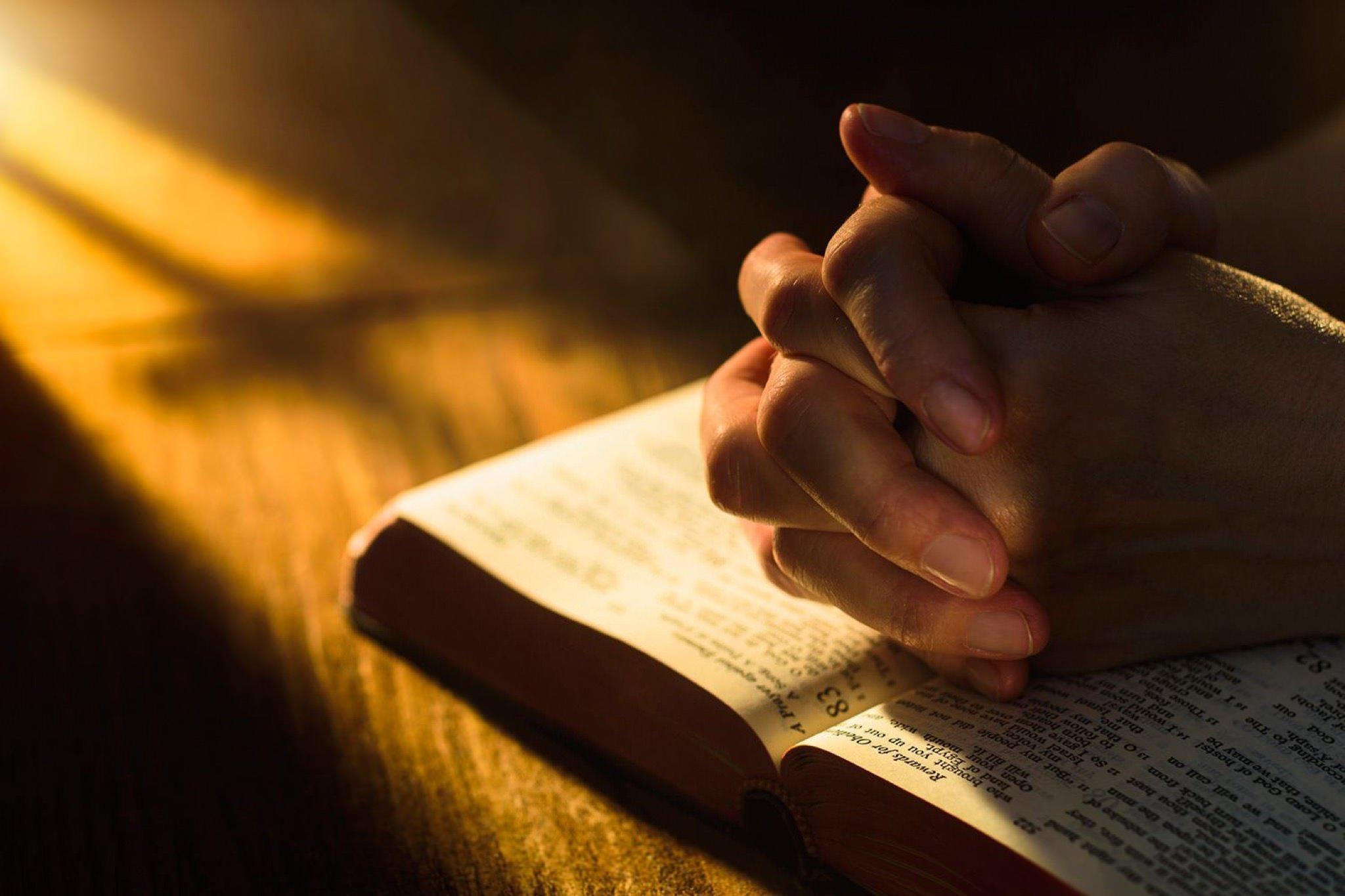 Молитва во время пандемии коронавируса