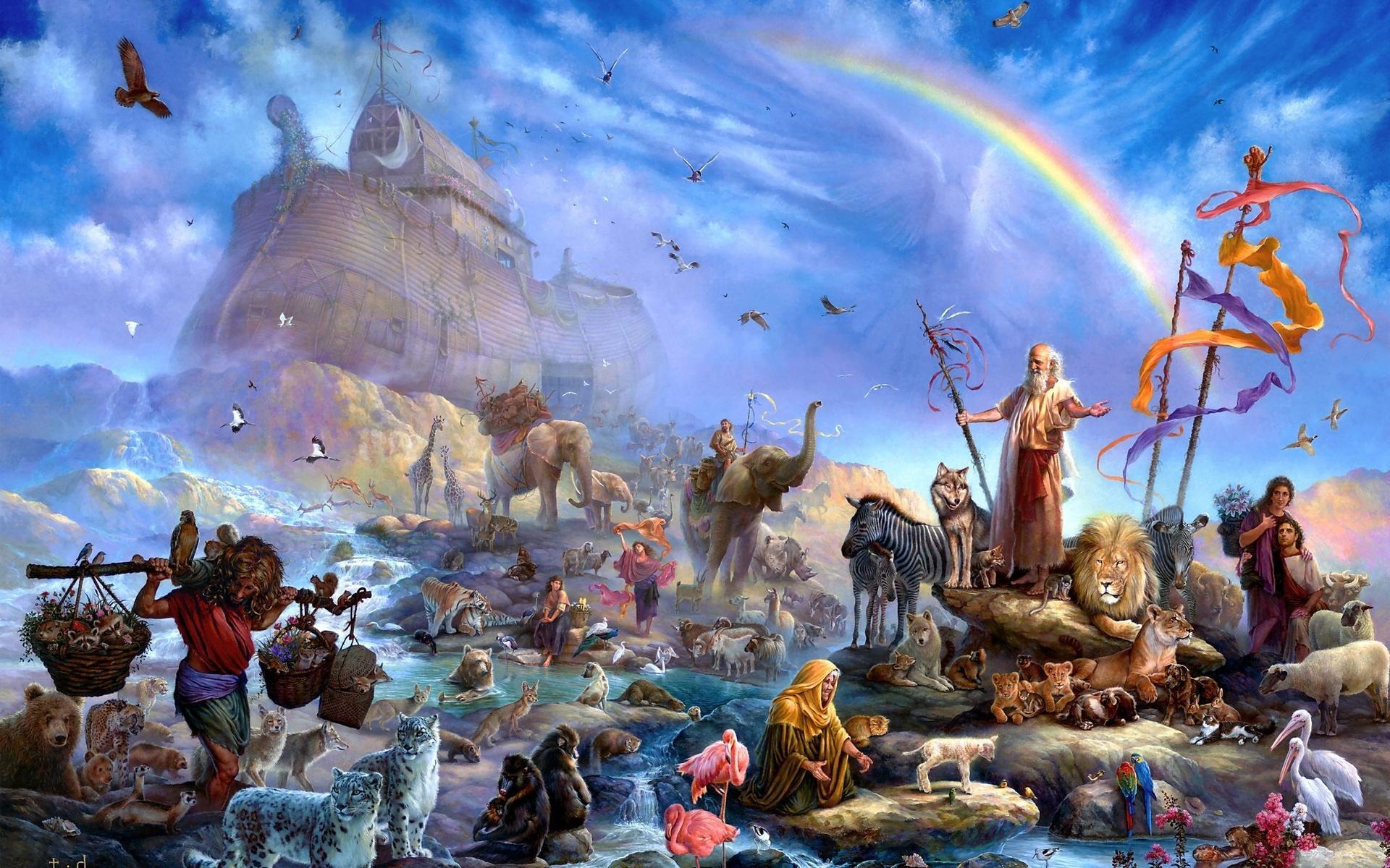 Мифы разных народов о Большом Потопе. А откуда они взялись?