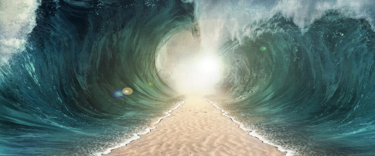Где Израиль перешел море